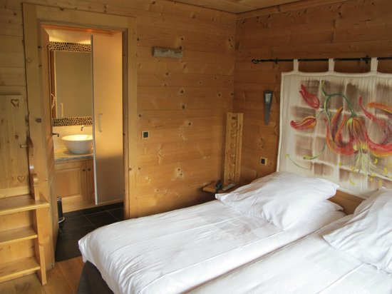 Chalet Hotel Hermitage Paccard: Zimmer 114