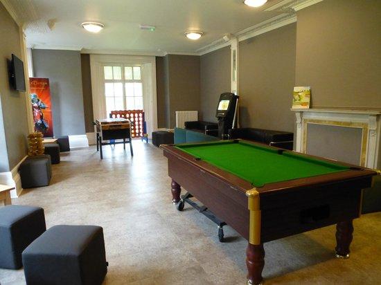 YHA Stratford upon Avon: The games room