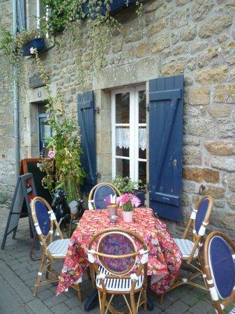 Boulangerie-Patisserie Robic  - Salon de the Tamm'Bara : la terrasse