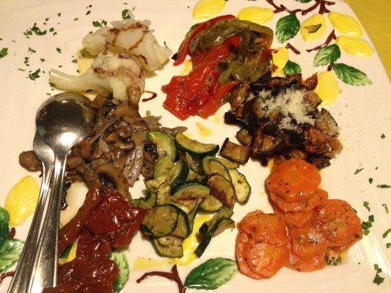 Ristorante Bellavista: antipasto misto di verdure