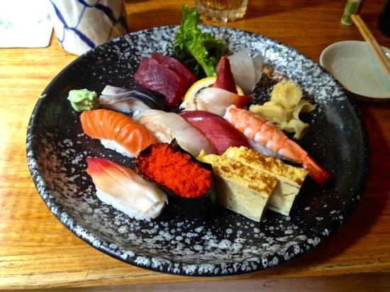 NADA Sushi Restaurant INC: Lunch sushi combo