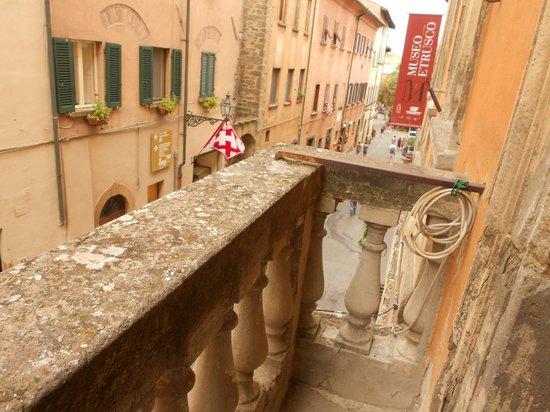 Museo Etrusco Guarnacci: du balcon du Musée