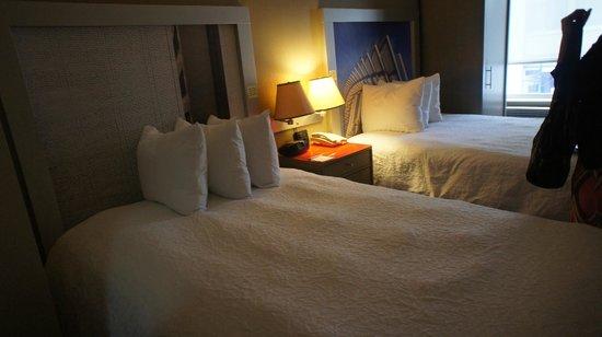 Hampton Inn Manhattan - Madison Square Garden Area : 2 double beds in room