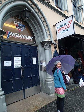 Bergen YMCA Hostel: the outside