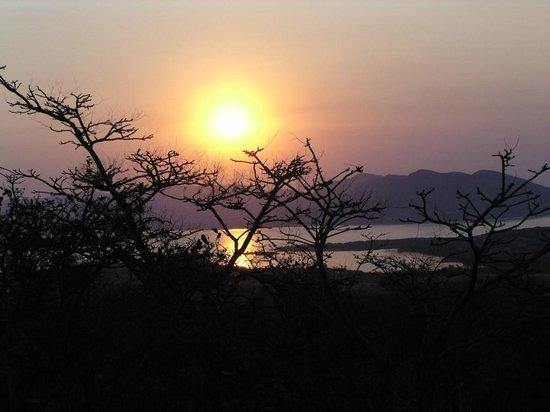 Oxwagon Lodge: Spectacular sunsets