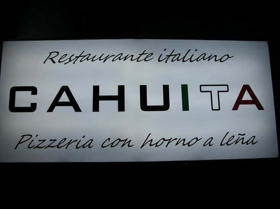 Pizzeria Cahuita: Il nostro logo!