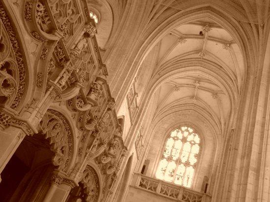 Monastere Royal de Brou : Interno della chiesa del Monastero di Brou