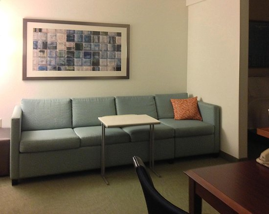 SpringHill Suites Chicago Schaumburg/Woodfield Mall: Nice enough for one or two people