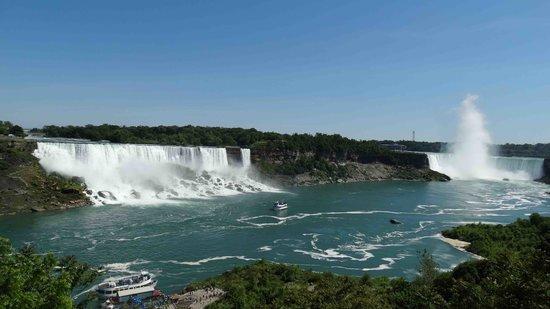 Niagara Falls Day Tour : zicht op