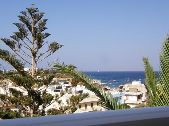 Belvedere Hotel : fra vår balkong