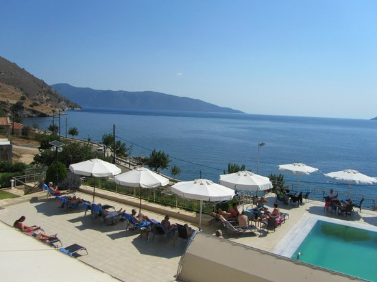 Odyssey Hotel Kefalonia: room with a view