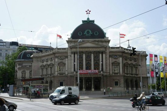 Volkstheater: The theater.