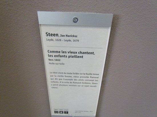 Musée Fabre : Une sentence ?! ....