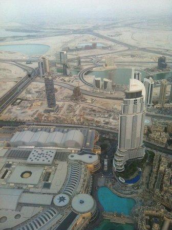At The Gym On The Mid 76th Floor Of The Burj Khalifa Picture Of Burj Khalifa Dubai Tripadvisor