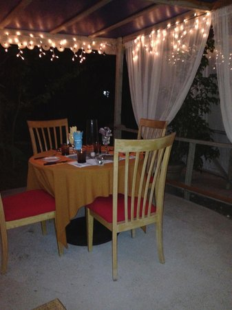 Nickys Restaurant & Bar: Romantic setting