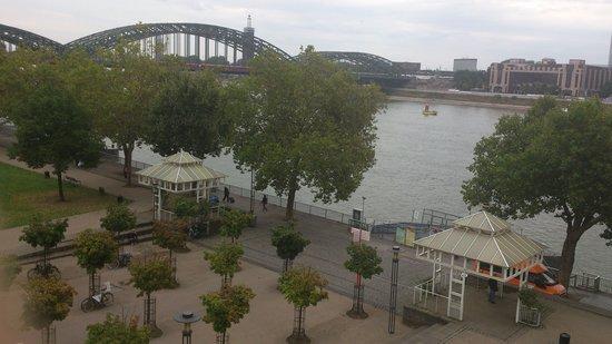 Rhein Hotel St.Martin: View from room 312