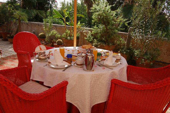 Riad Enija: colazione