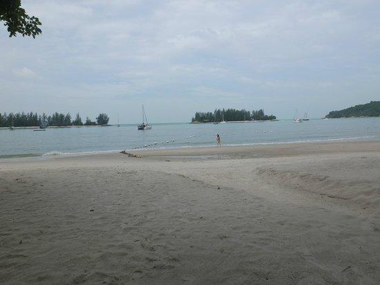 The Danna Langkawi, Malaysia : plage de l'hôtel
