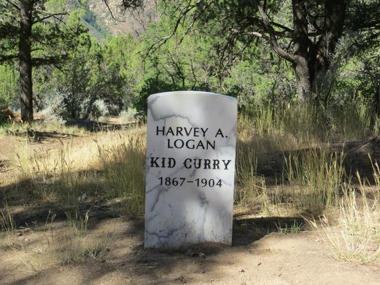 Doc Holliday's Grave: Kid Curry - cemetery head stone