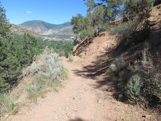 Doc Holliday's Grave: Trail to Linwood Cemetery, Glenwood Springs, CO