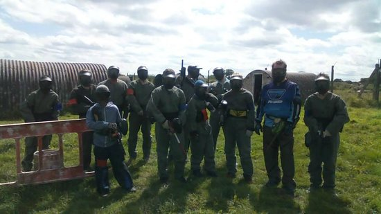 Outpost Paintball: Group Picture #1