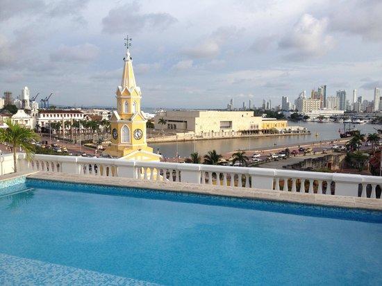NH Cartagena Urban Royal: Vista Piscina