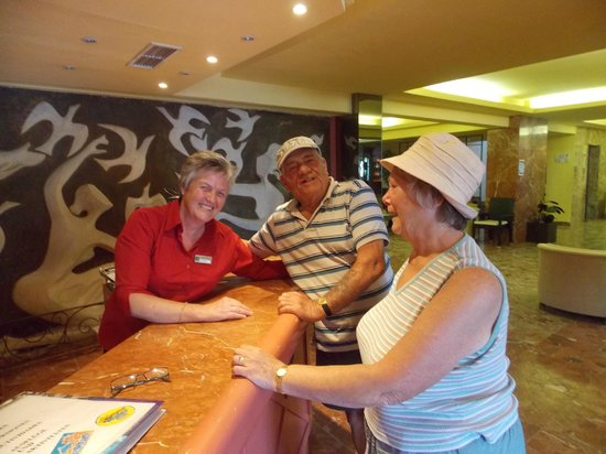 Hotel Tropico Playa: Reception