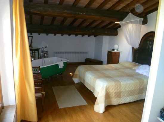 La Leopoldina : Doppelzimmer Dachgeschoß