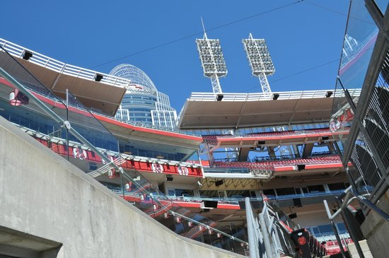 Great American Ball Park: From ground level