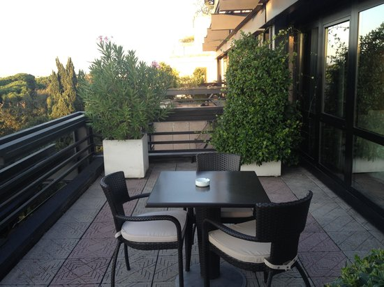 NH Collection Roma Vittorio Veneto : Great park view worth the extra 30 Euros