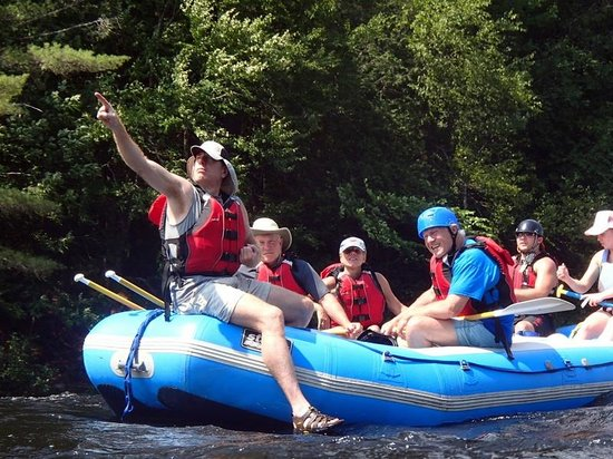 Inn by the River: Floating after hitting the rapids
