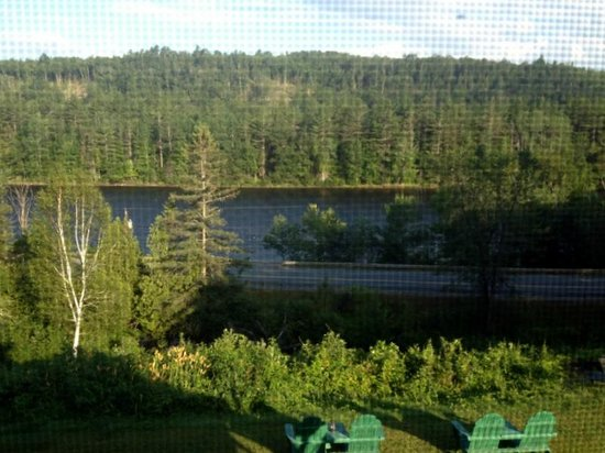 Inn by the River: View from screened porch off our room