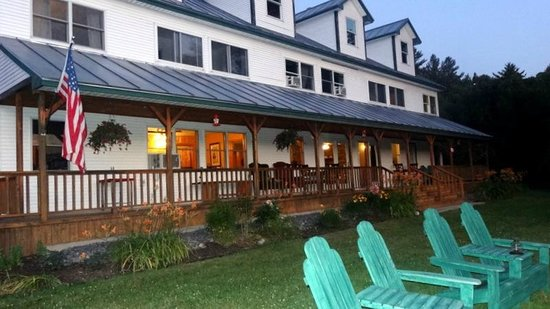 Inn by the River : Evening at Inn at the River