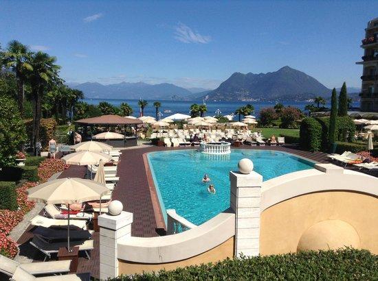 Pool View Picture Of Grand Hotel Bristol Stresa Tripadvisor