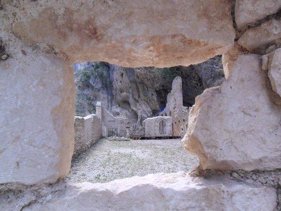Fara San Martino, Italien: Resti dell'Abbazia di San Martino