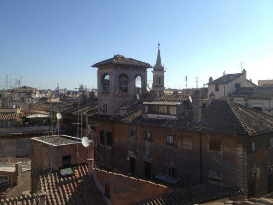 Navona Palace Residenze di Charme : Vue de la terrasse