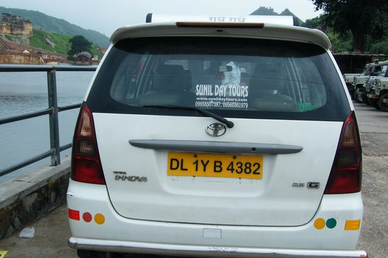 Sunil Day Tours: The Car