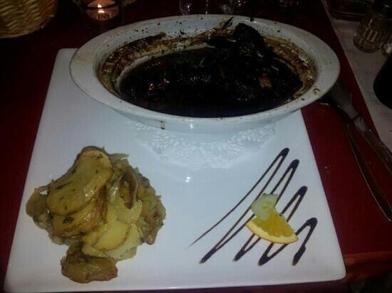 L'instant Délice : civet d'oie au vin de Bergerac, excellent!