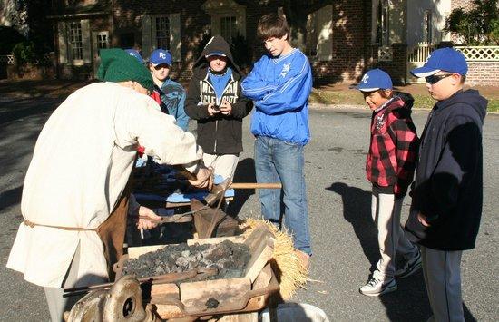 First State Heritage Park: Blacksmith Mike Radeback at Market Fair