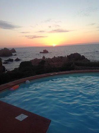 Costa Paradiso Resort: vista da villa acqua marina.