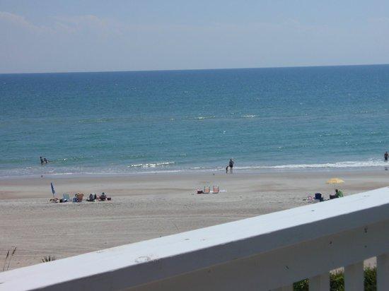 Pebble Beach Condominiums: view from balcony