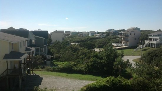 Pebble Beach Condominiums: view from back deck