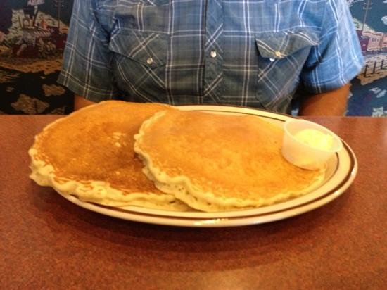 Crown Railroad Cafe: short stack