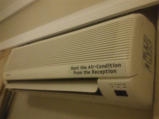 "Argiri Hotel: ""Rent the Air-Condition from the Reception"""