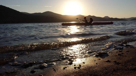 Iznájar, España: playa de valdearenas, iznajar