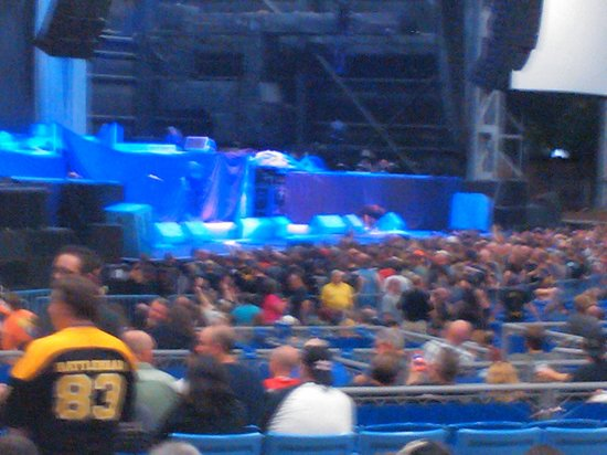Maryland Heights, MO: Iron Maiden Concert
