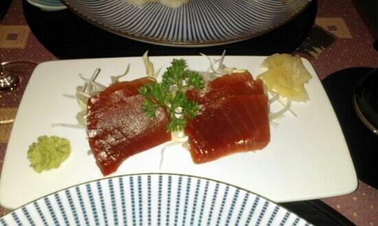 Ume : sashimi thon