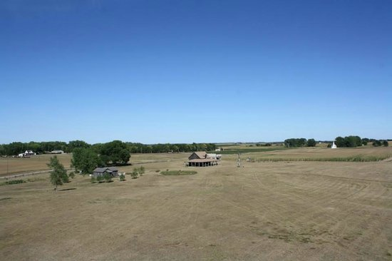 """Ingalls Homestead - Laura's Living Prairie: """"Look Pa, it's my house!"""""""