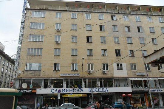 Slavyanska Beseda Hotel: Front of Hotel