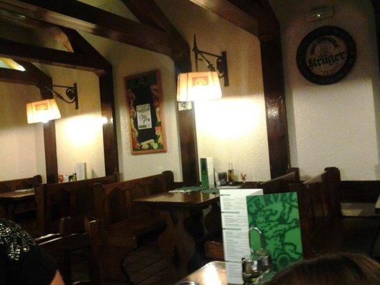 Krüger: Interior del restaurante